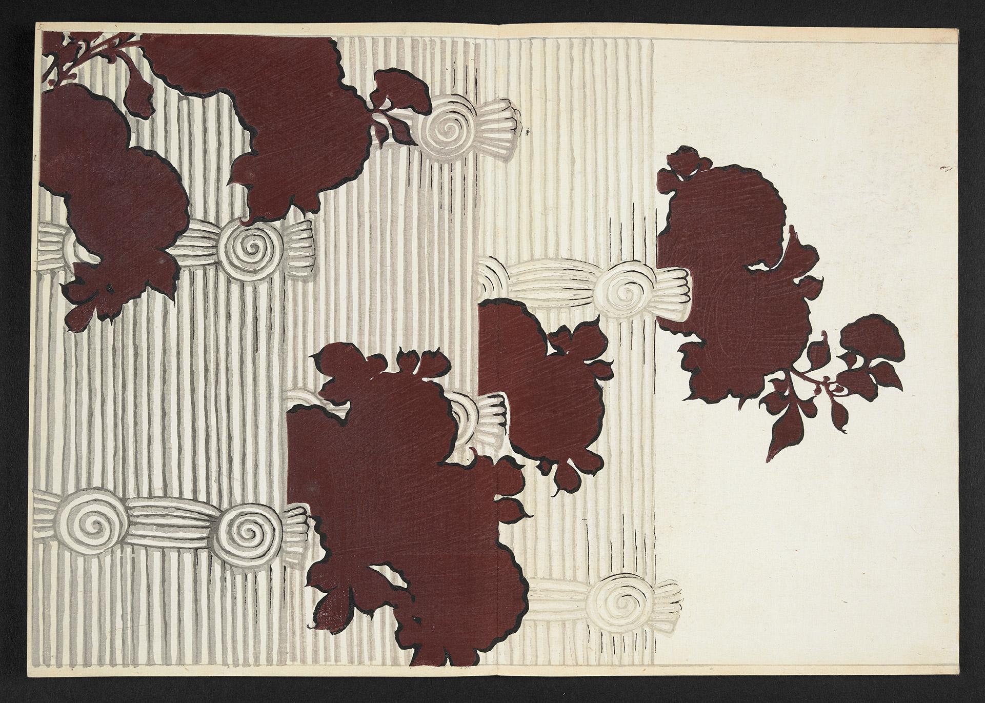 Artwork shaped like leaves